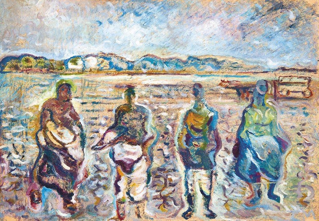Tóth Menyhért (1904-1980): Cabbage pickers