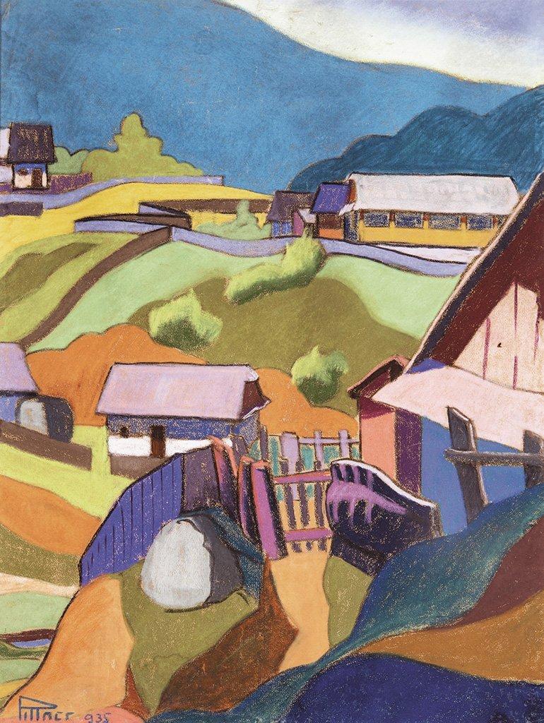 Pittner Olivér (1911-1971): Baia Mare, 1935
