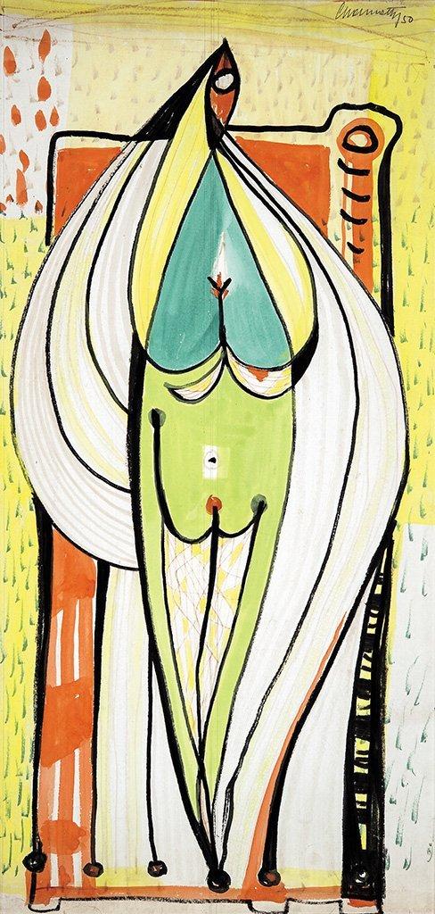 Gyarmathy Tihamér (1915-2005): Woman, 1950