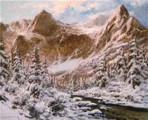 Neogrdy Lszl  18961962 Snowy mountains