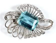 1940's Platinum Pin   *