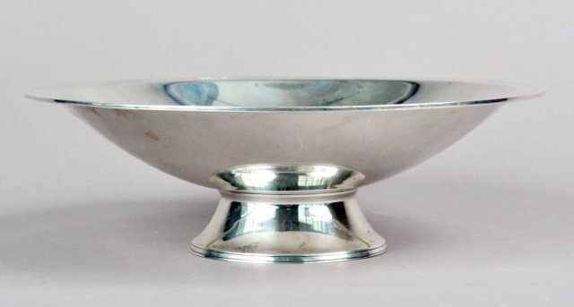 Tiffany Silver Footed Bowl   *
