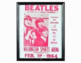 Vintage Beatles Poster