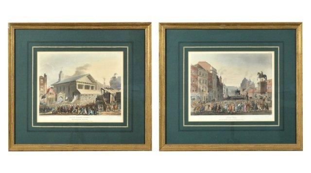 Two English Color Prints