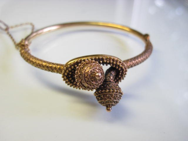 18K Etruscan Bangle