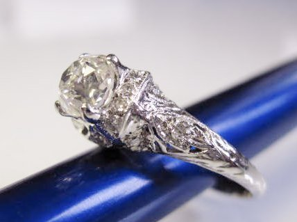1.16 Carat Diamond Ring - EGL