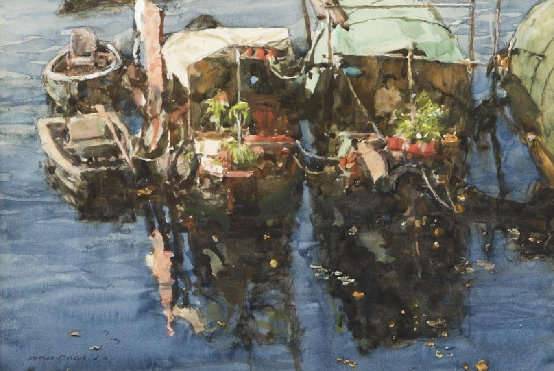 Donald Teague N.A. (1897-1991 Carmel, CA)