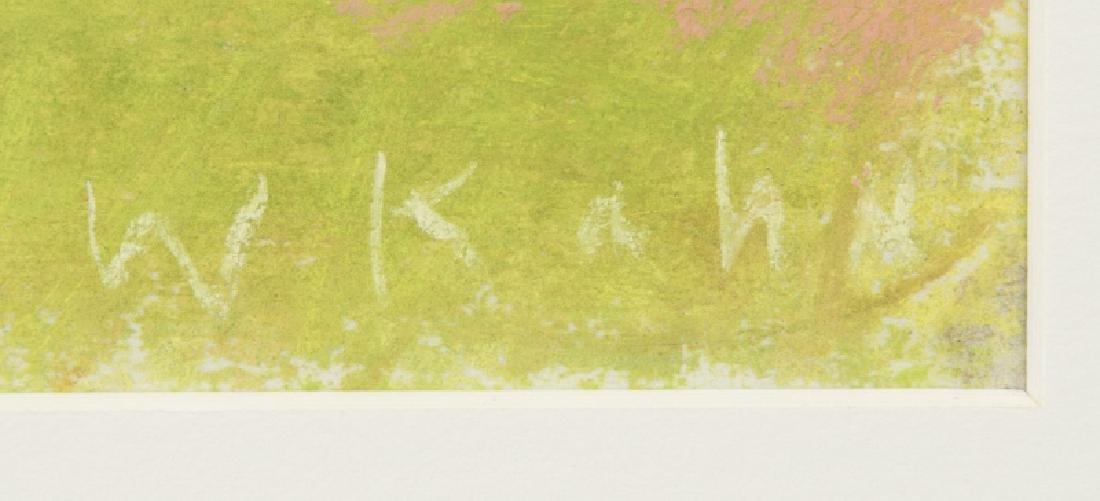 Wolf Kahn (1927-* New York, NY) - 2