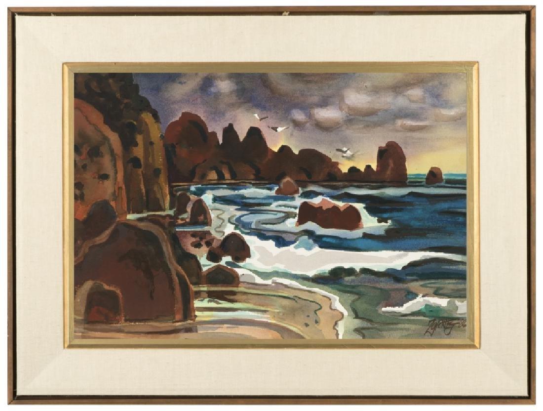 Milford Zornes N.A. (1908-2008 Claremont, CA) - 4