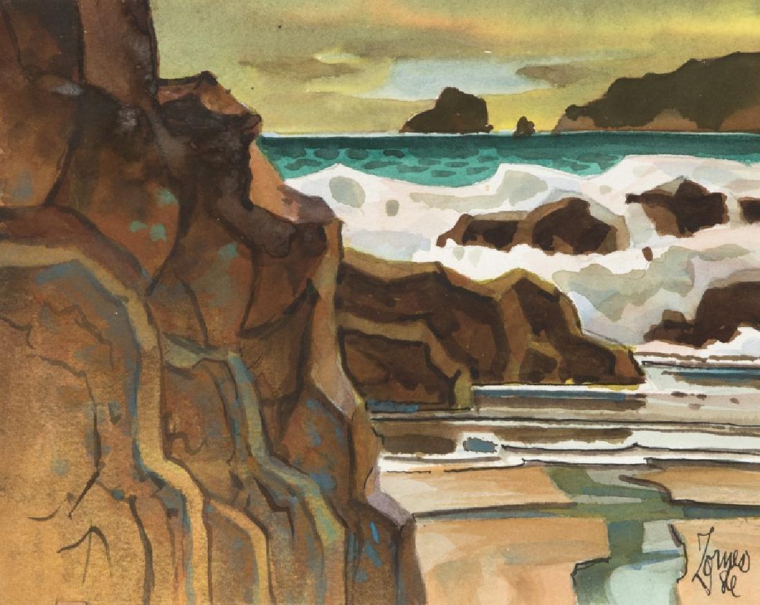 Milford Zornes N.A. (1908-2008 Claremont, CA)
