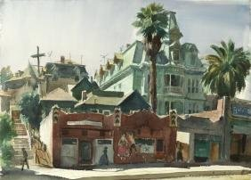Emil J. Kosa Jr. N.A. (1903-1968 Los Angeles, CA)