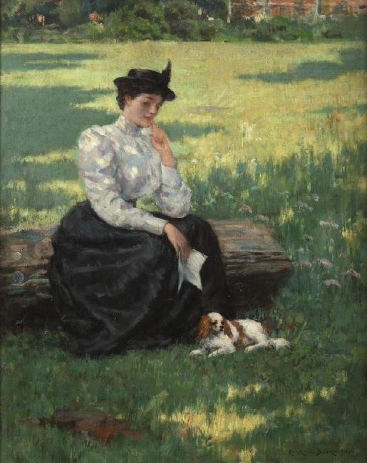 James Carroll Beckwith (1852-1917 New York, NY)