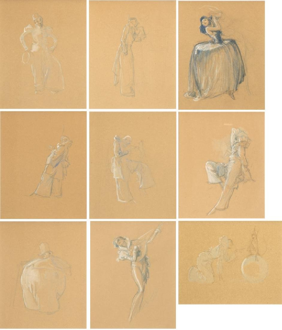 Everett Shinn (1876-1953 New York, NY)