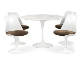"An Eero Saarinen for Knoll ""Tulip"" dining set"