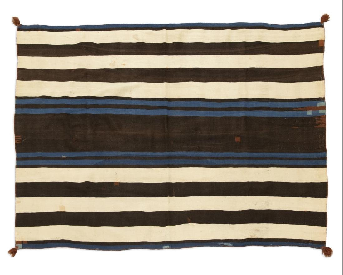 A Navajo first phase Ute-style chief's blanket