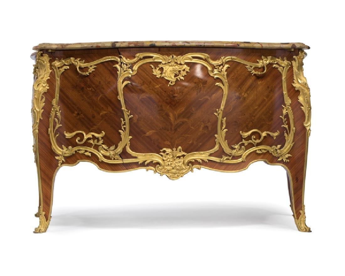 Louis XV-style gilt-bronze mounted commode, Linke