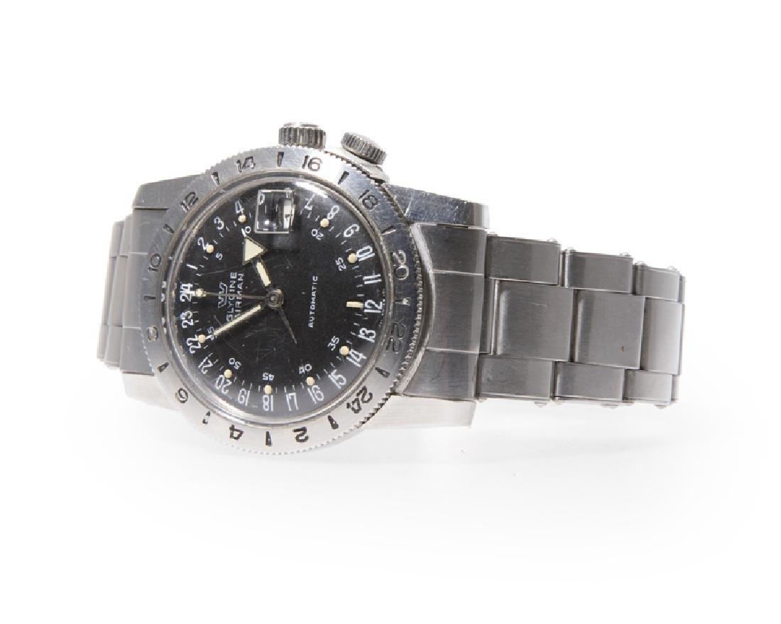 "A Glycine ""Airman"" stainless steel wristwatch,"