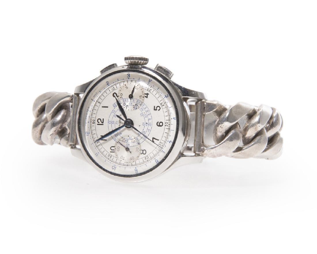 A Longines chronograph men's wristwatch
