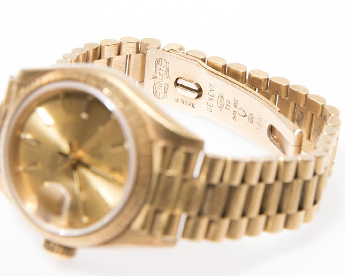 A ladies Gold Rolex Oyster wrist watch - 2