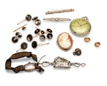 A group of jewelry items