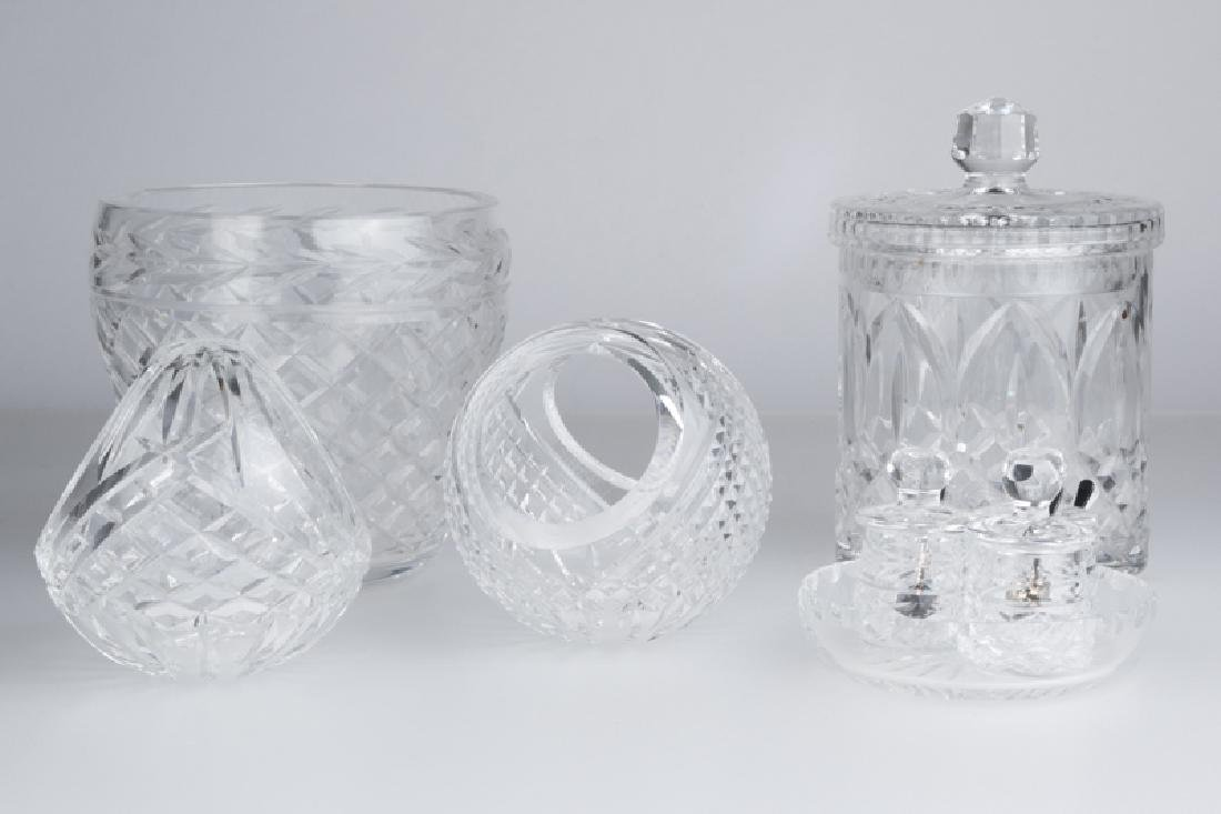 A group of Waterford Crystal objects