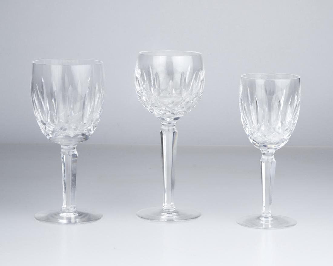 """A group of Waterford Crystal """"Kildare"""" stems"""
