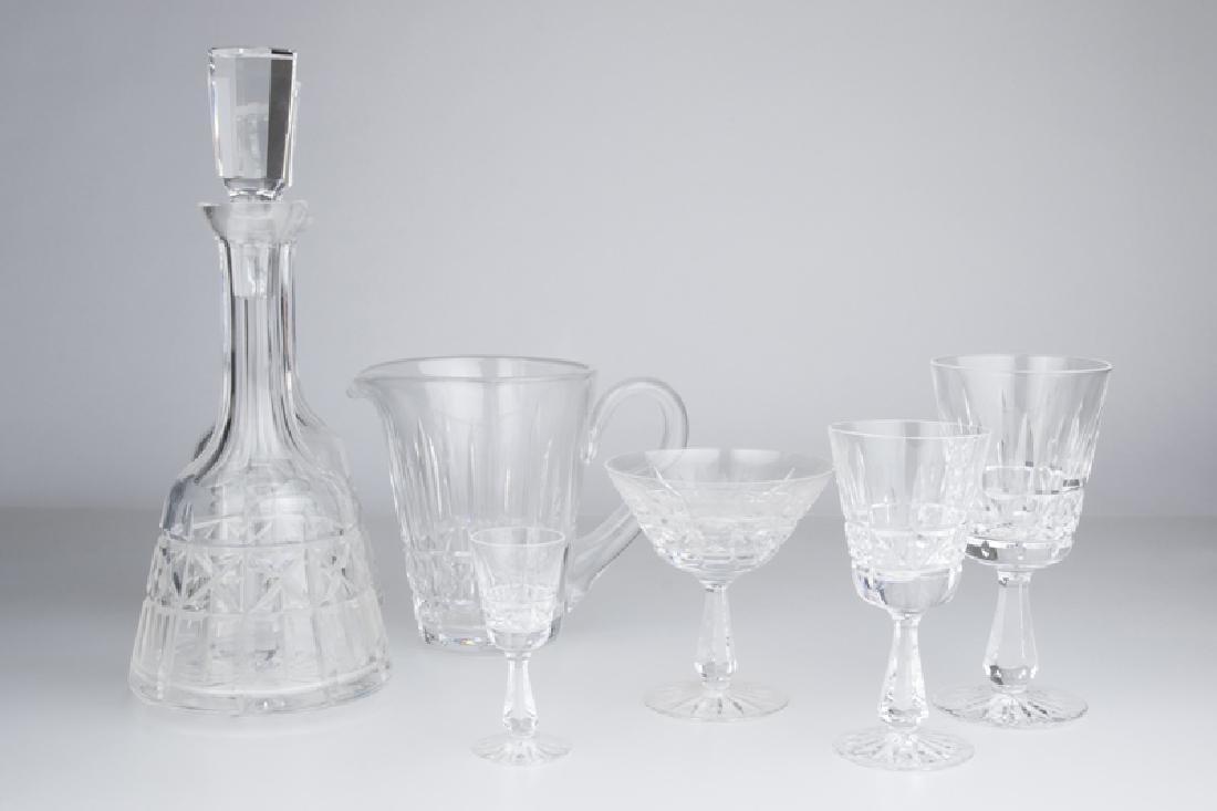 "A group of Waterford Crystal ""Kylemore"" stemware"