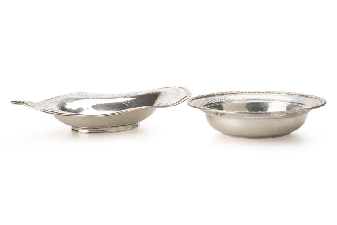 Two American sterling silver bowls