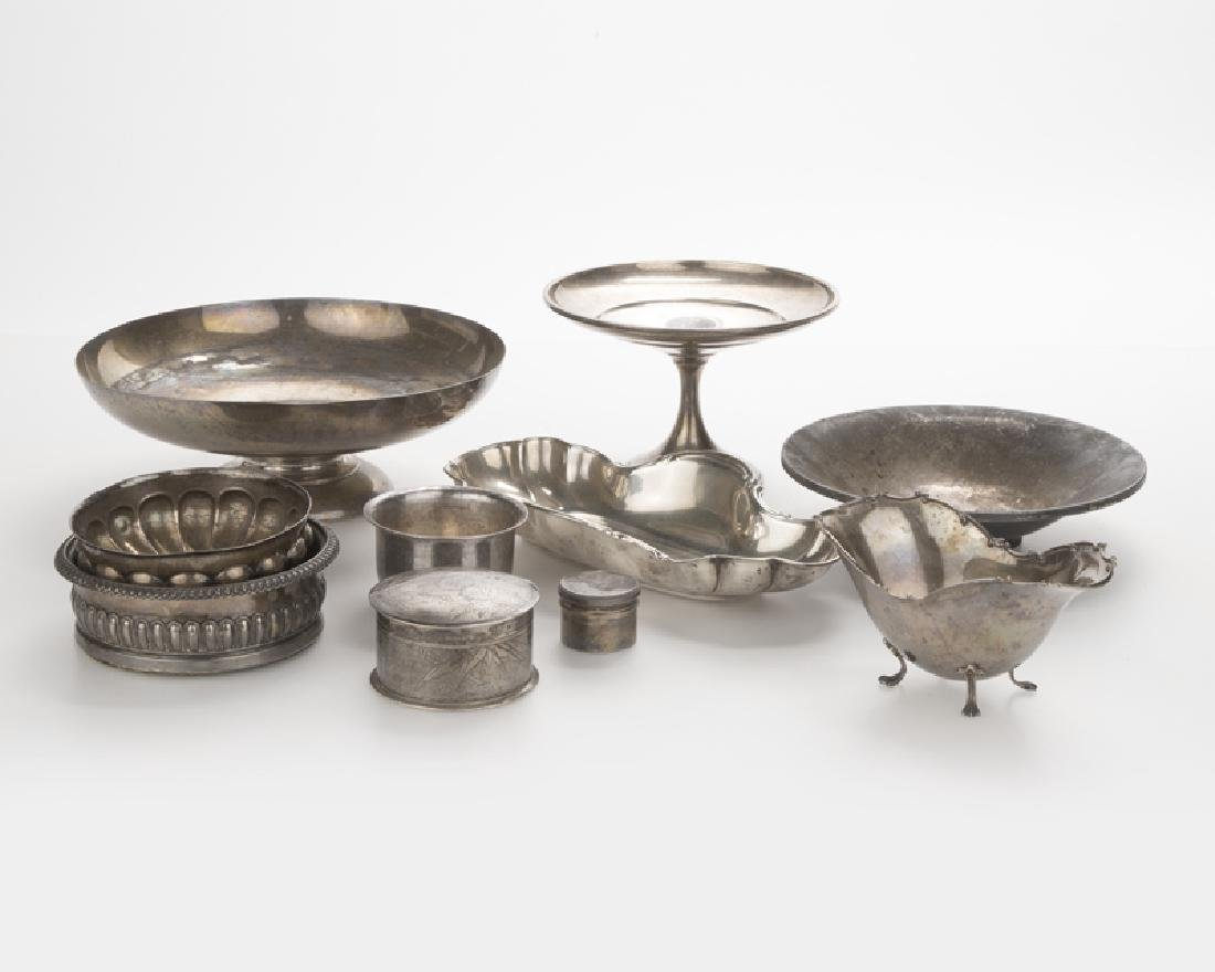 A group of miscellaneous silver objects