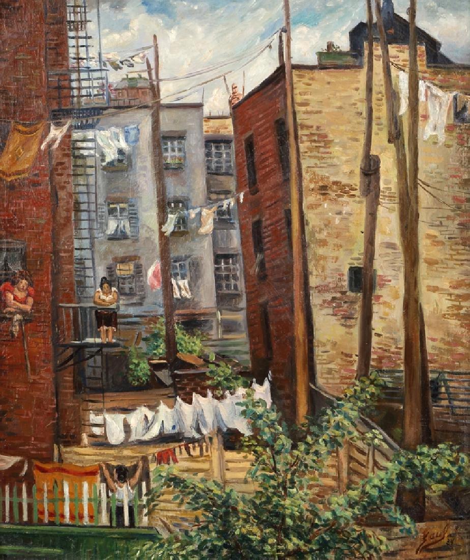 Saul Kovner (1904 - 1981 New York, NY)