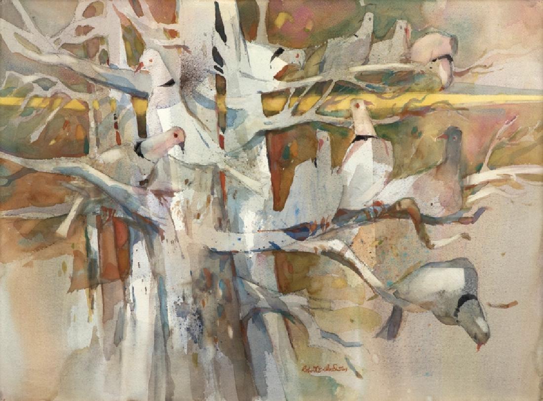 Robert Earle Wood A.N.A., A.W.S. (1929 - 1999 Redlands,