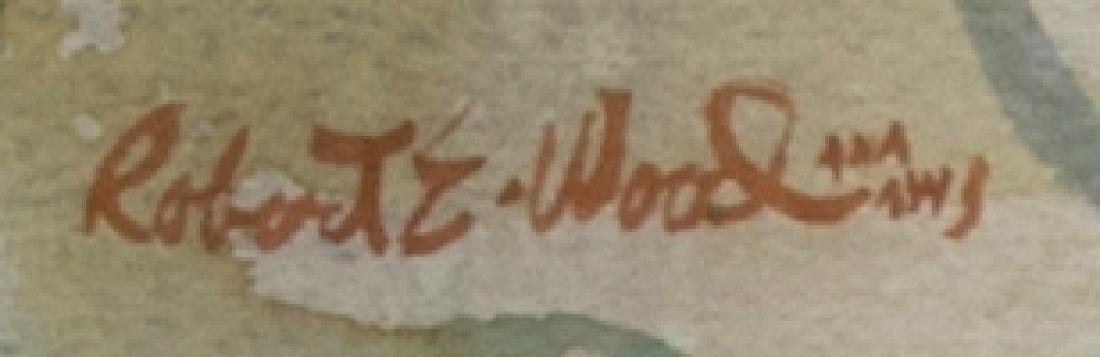 Robert Earle Wood A.N.A., A.W.S. (1929 - 1999 Redlands, - 2