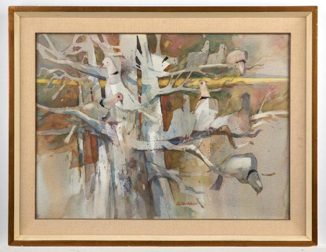 Robert Earle Wood A.N.A., A.W.S. (1929 - 1999 Redlands, - 4