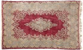 A Kerman Persian area rug
