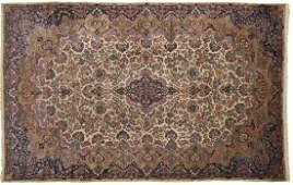 A Kerman Persian room-sized rug