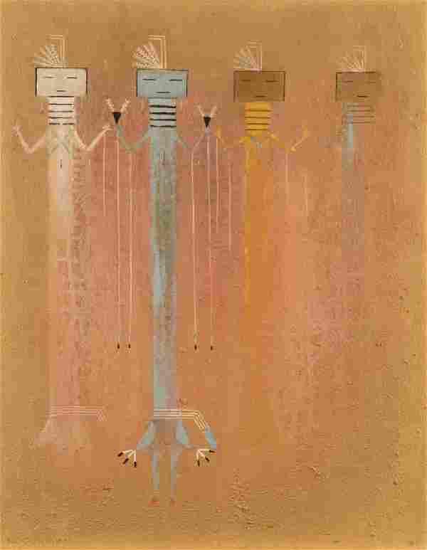 R.C. Gorman (1932-2005 Taos, NM)