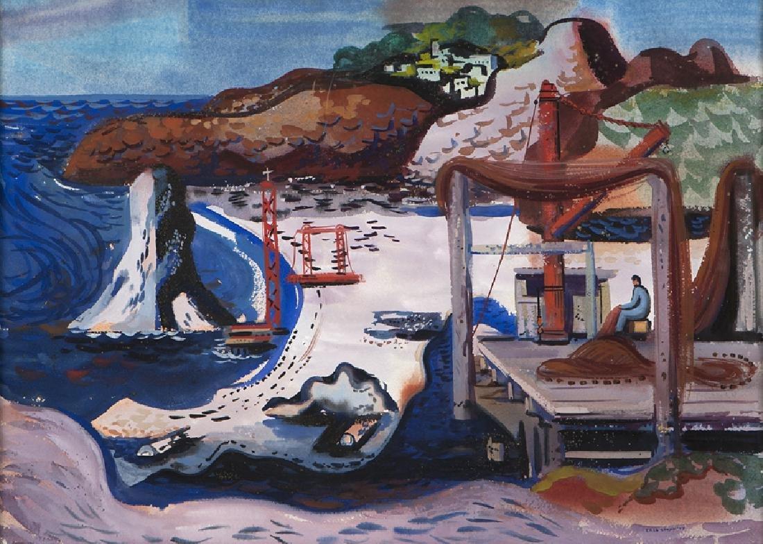 Erle Loran (1905 - 1999 Berkeley, CA)