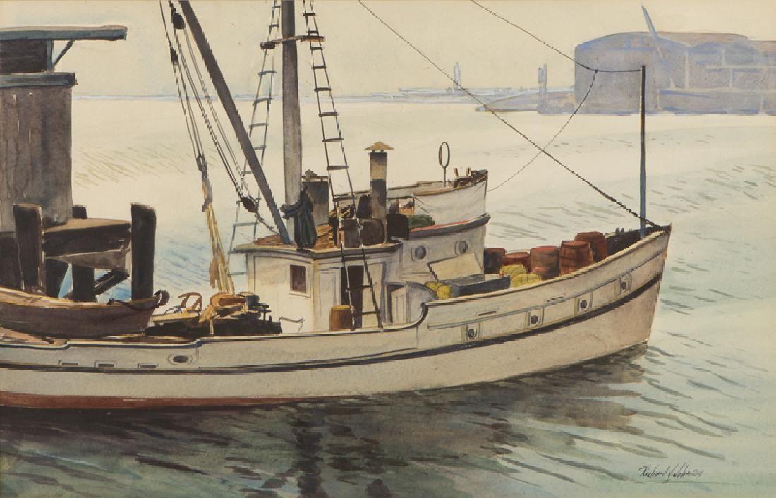 Richard Vernon Johnson (1905 - 2001 Seal Beach, CA)