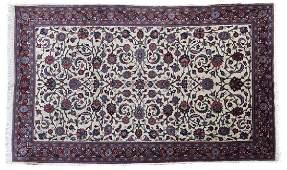 A Persian area rug, Isfahan