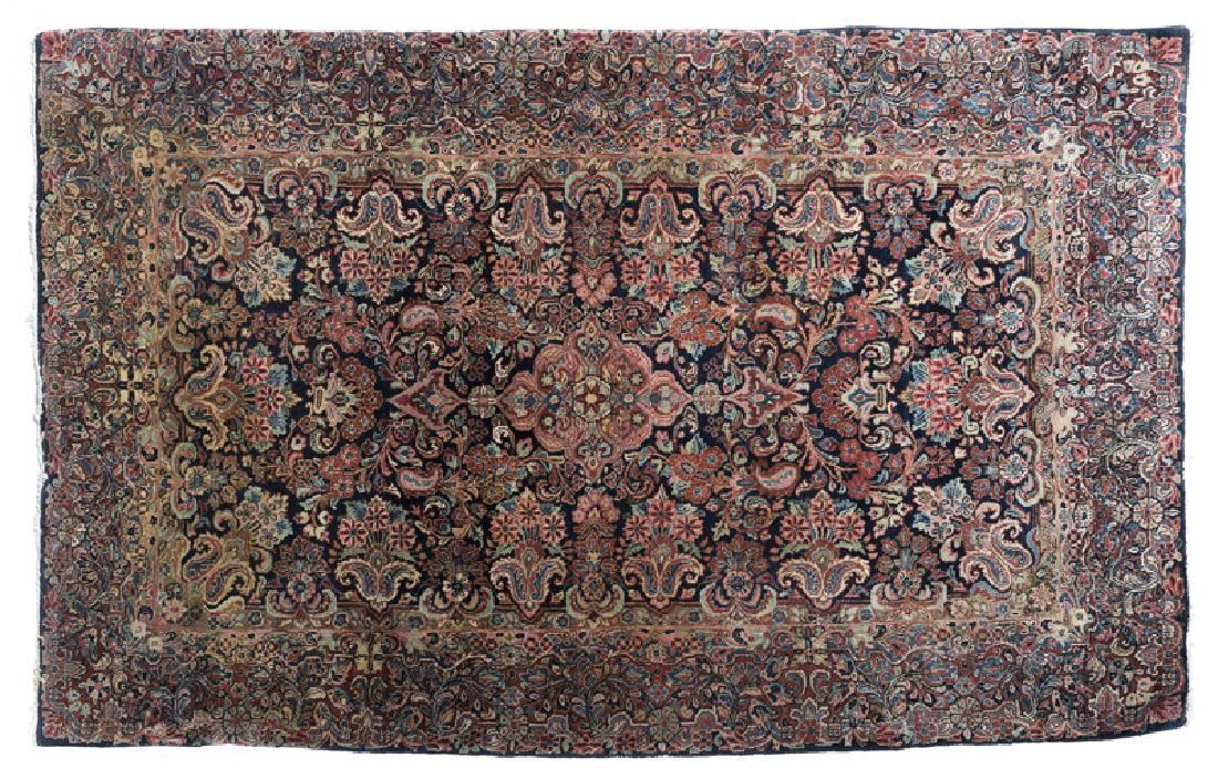 A Persian area rug, Kerman variety