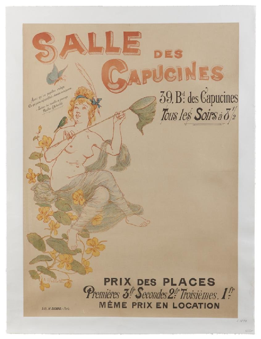 Vintage Poster, Adolphe Willette (1857 - 1926 French) - 2