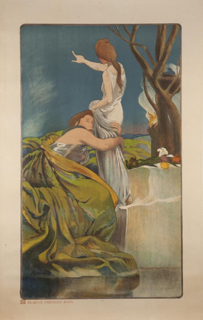 Vintage Poster, Albert Besnard (1849 - 1934 French)
