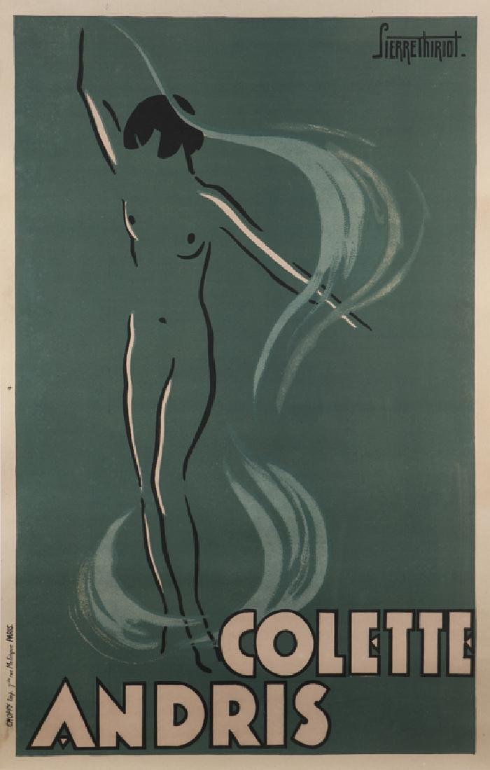 Vintage Poster, Pierre Thiriot (1904 - 1991 French)