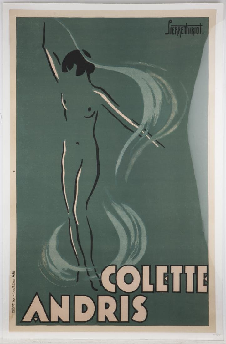 Vintage Poster, Pierre Thiriot (1904 - 1991 French) - 2