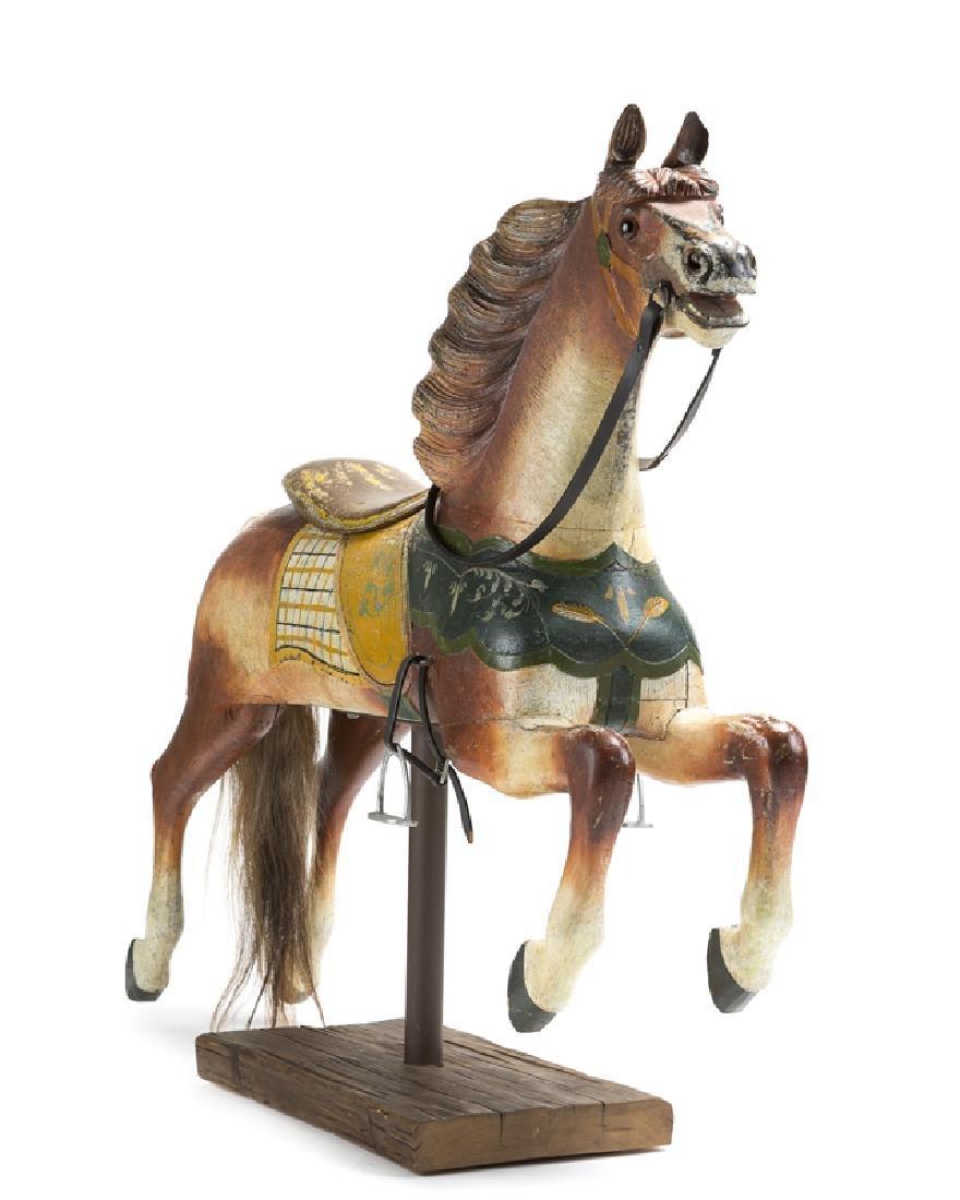 An Armitage-Herschell carousel track horse - 2