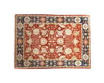 A Persian room-sized rug