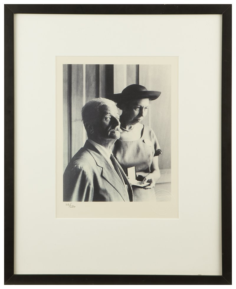 Photograph of William Faulkner and Eudora Welty, Budd - 5