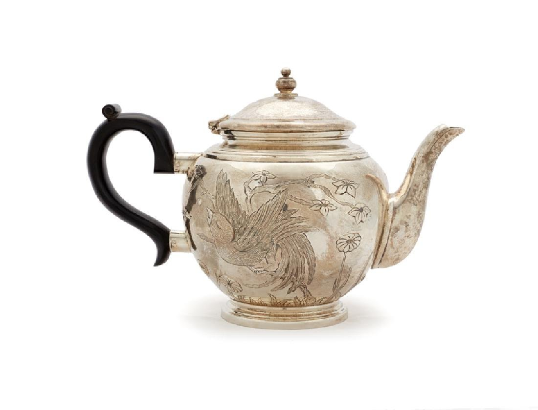 A Tiffany & Co. sterling silver teapot - 4