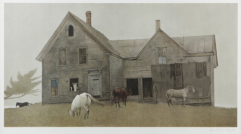 Andrew Wyeth (1917 - 2009 Chadds Ford, PA)