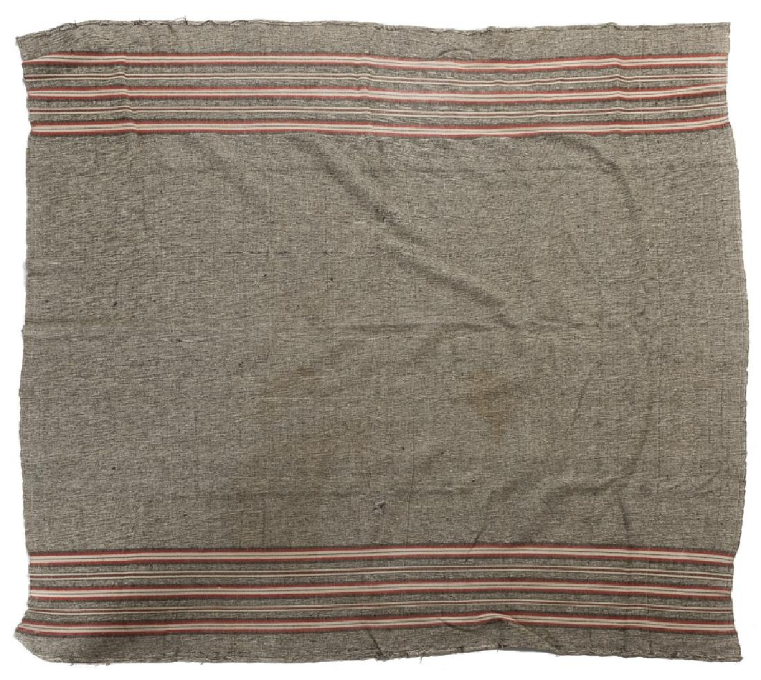 A Big Hole Battlefield soldier's blanket